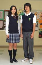 コロンビアインターナショナルスクール 制服