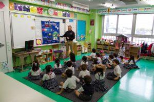 コロンビアインターナショナルスクール 学校説明会 幼稚園課程 公開授業