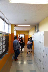 コロンビアインターナショナルスクール 学校説明会 廊下 出入り自由