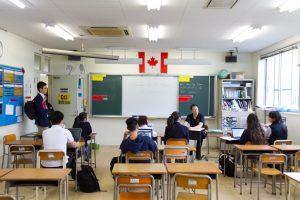 コロンビアインターナショナルスクール 学校説明会 高校課程 公開授業